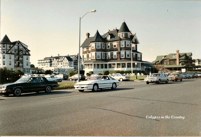 The Beach House restaurant and bar in Spring Lake - an iconic building that used to sit on Ocean Avenue