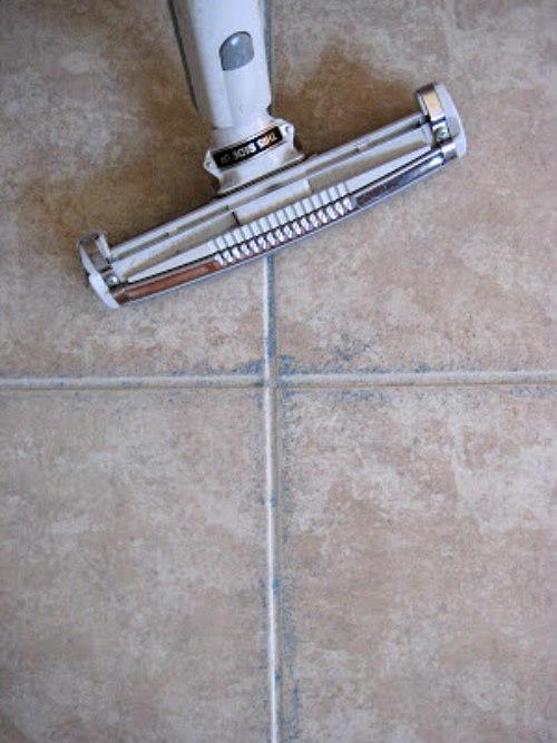 vacuum on tile floors
