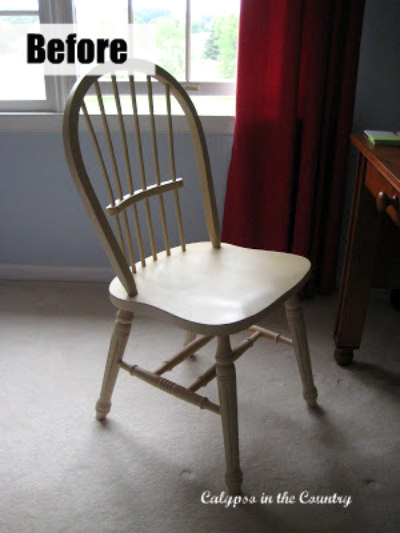 Windsor Chair before painting