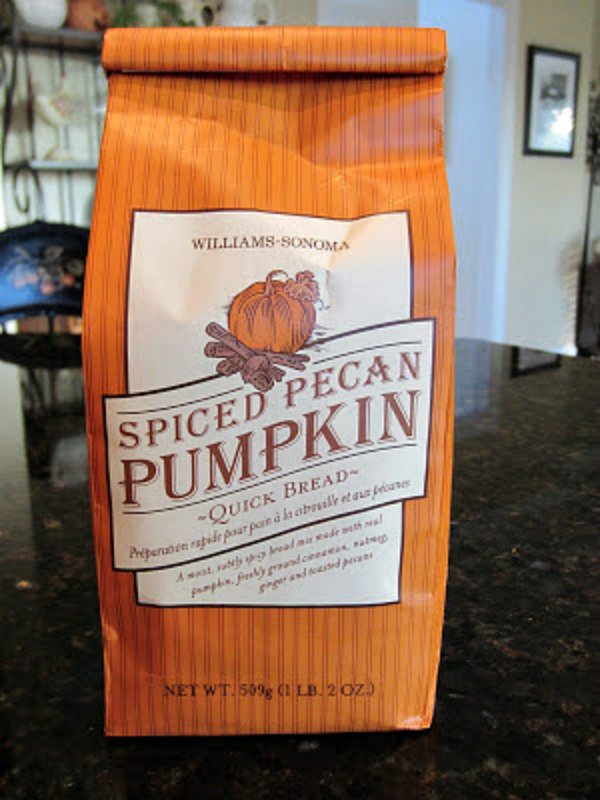 Limited Edition Pumpkin Spice Bread Mix