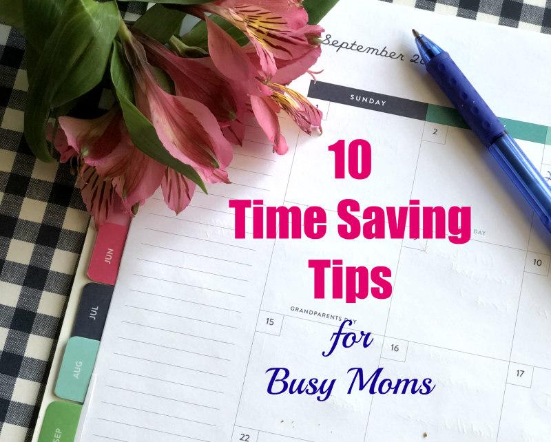 Ten time saving tips