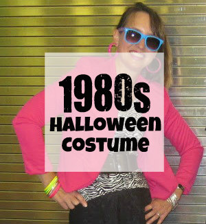 1980s Adult Halloween Costume