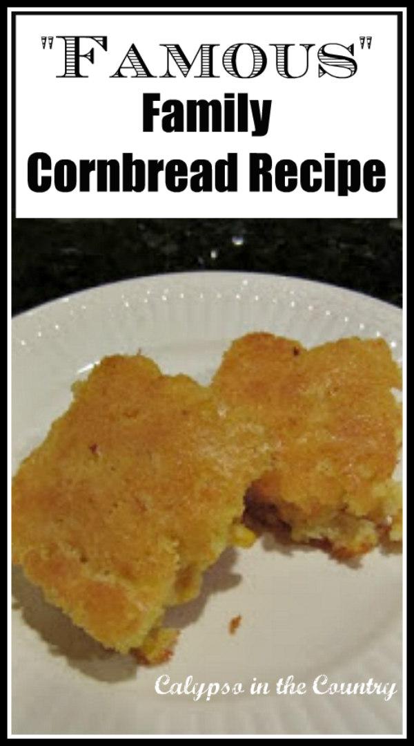 Thanksgiving Cornbread Recipe