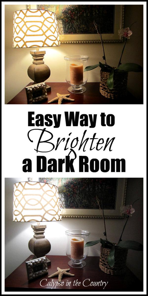 Easy Way to Brighten a Dark Room