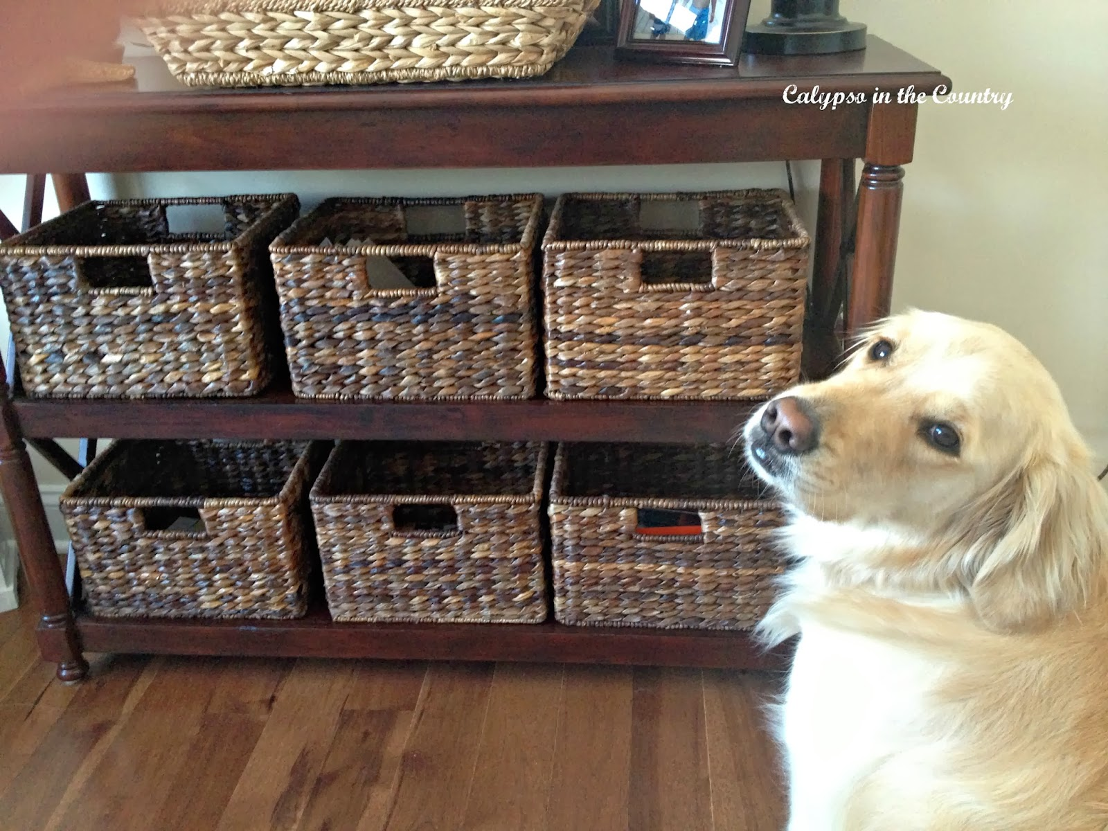 Organization In My Office Making It Pretty With Baskets
