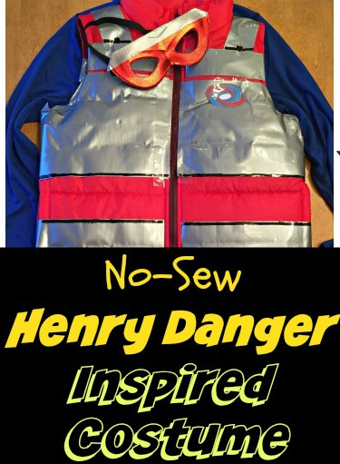 No-Sew DIY Henry Danger - Kid Danger Inspired Halloween Costume