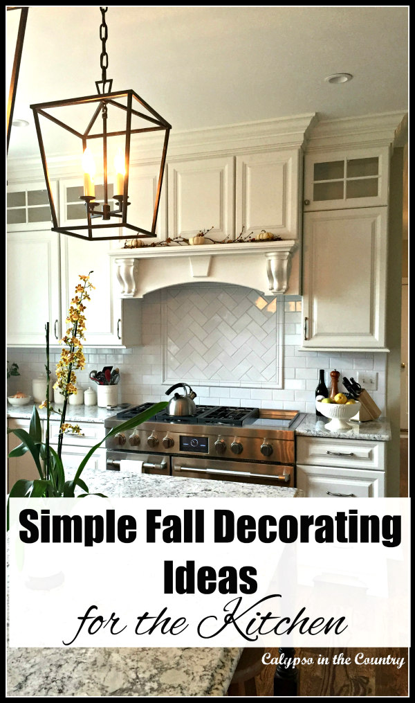 simple autumn decorating ideas for the kitchen