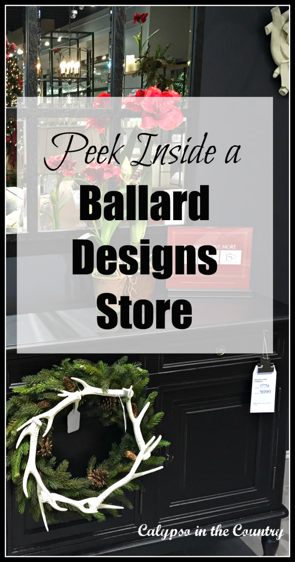 New Ballard Designs store