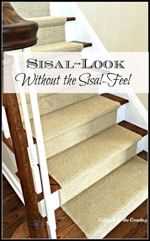 sisal substitute carpet runner
