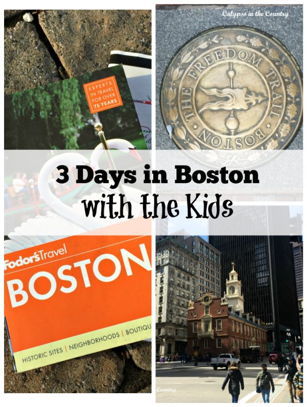 Boston with Boys – Day Three (Boston Tea Party and Recommendations)