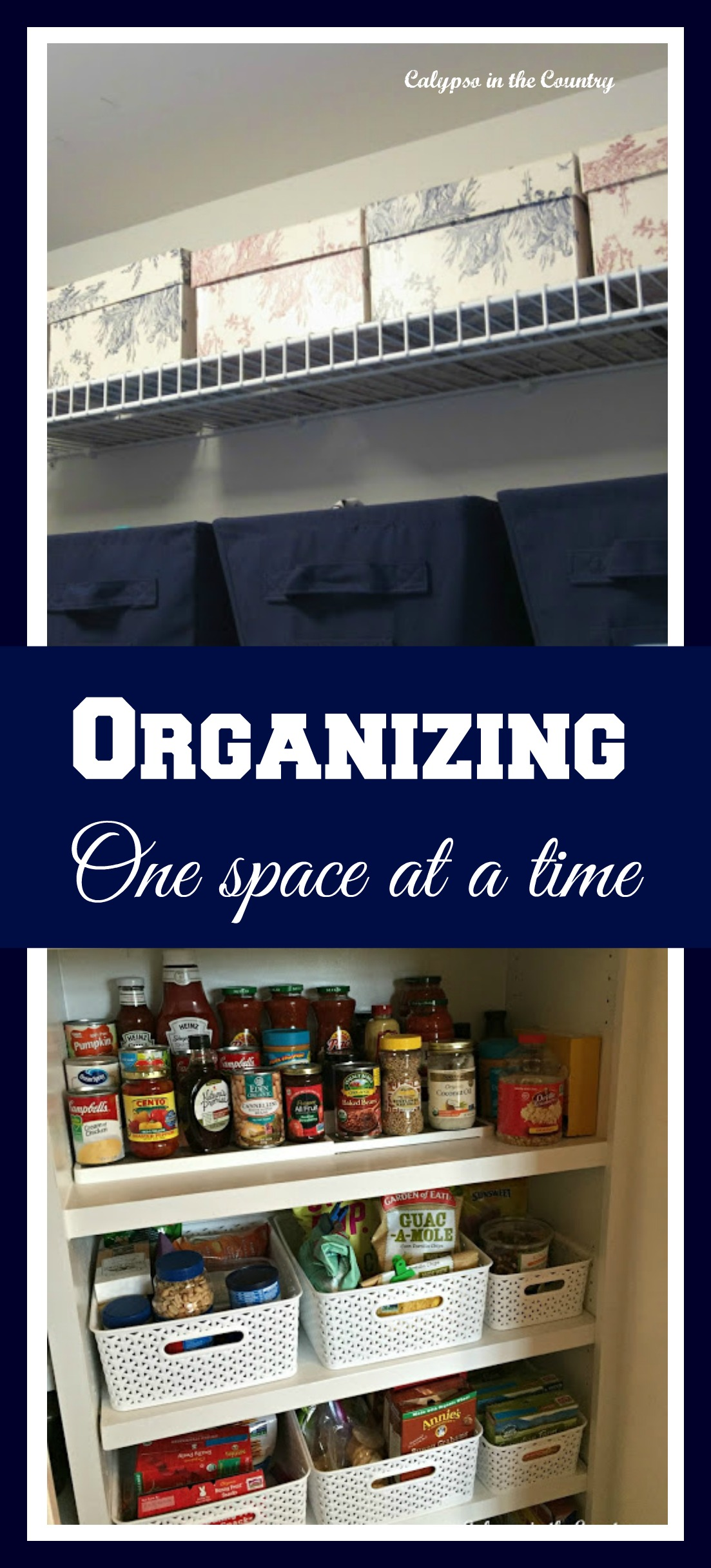 Thinking Organization – Working on One Space at a Time