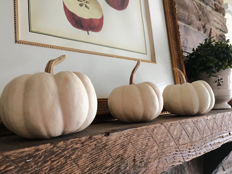 Decorating with White Pumpkins – Inspiration for Fall
