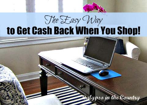 get cash back