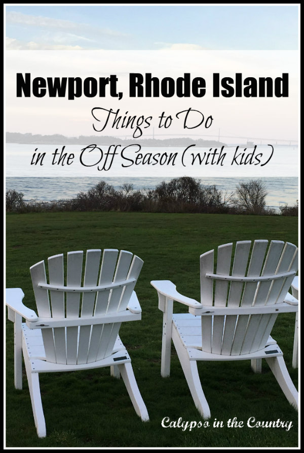 Newport Rhode Island in the off season with kids