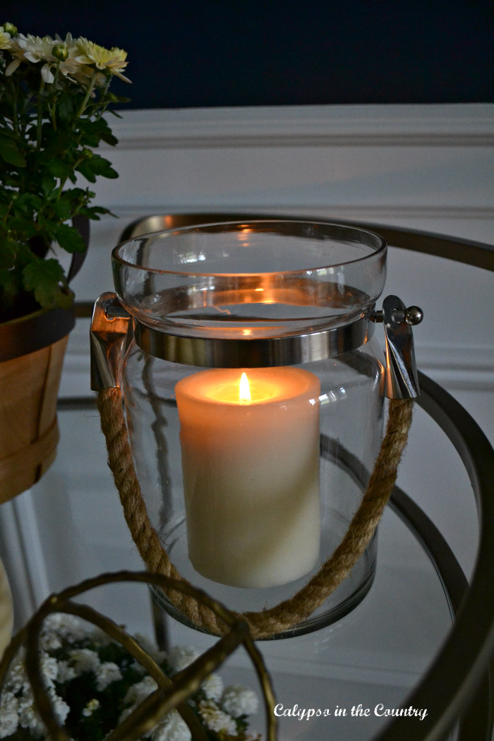 Candle and fall accessories