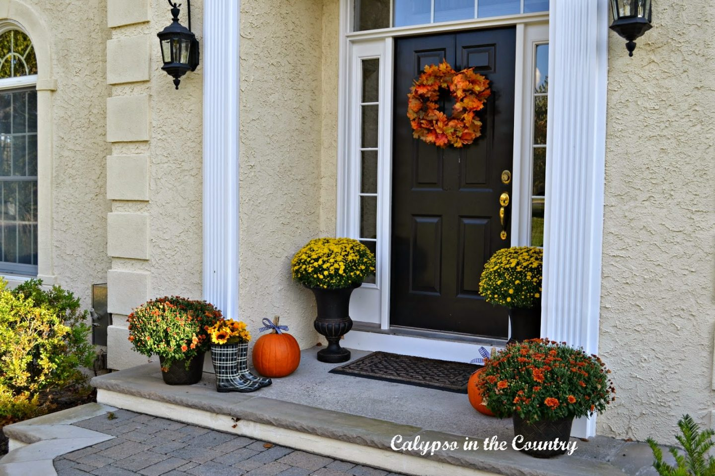 Ideas for a Fall Front Porch
