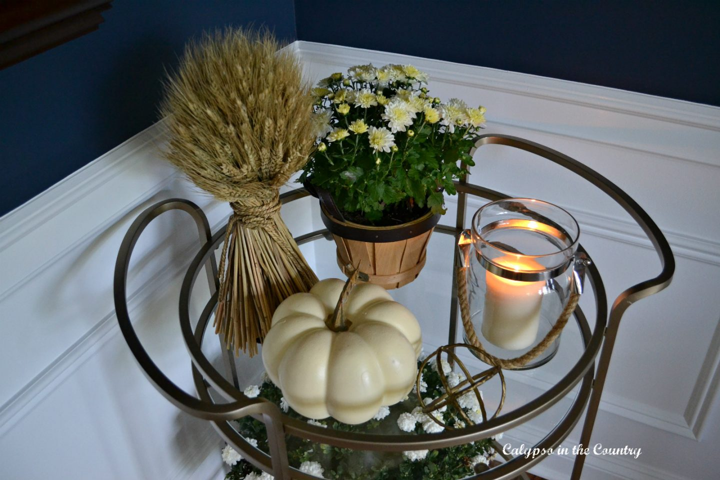 Fall styling ideas for a round bar car