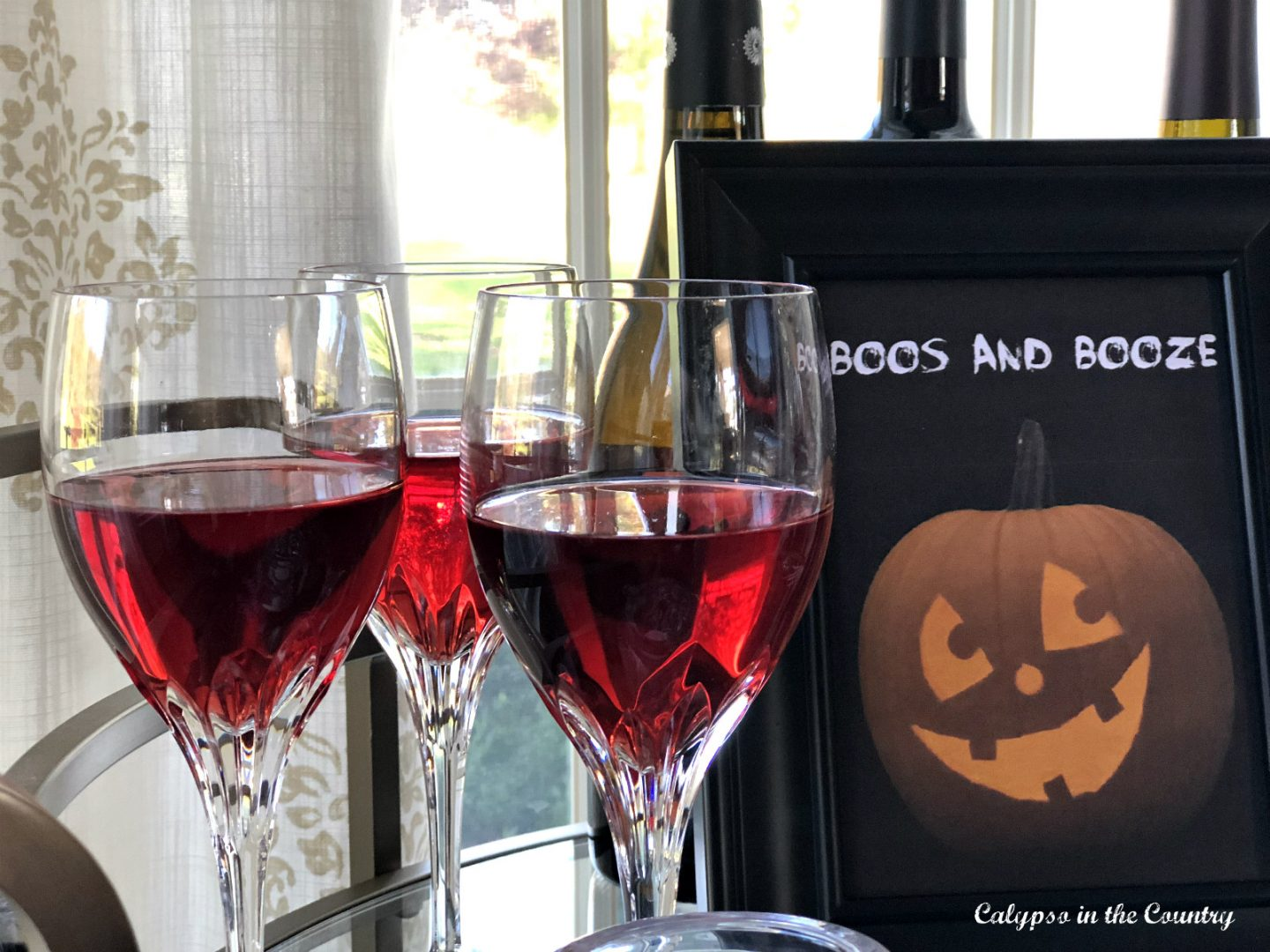 Adult Halloween Celebration with Boos and Booze
