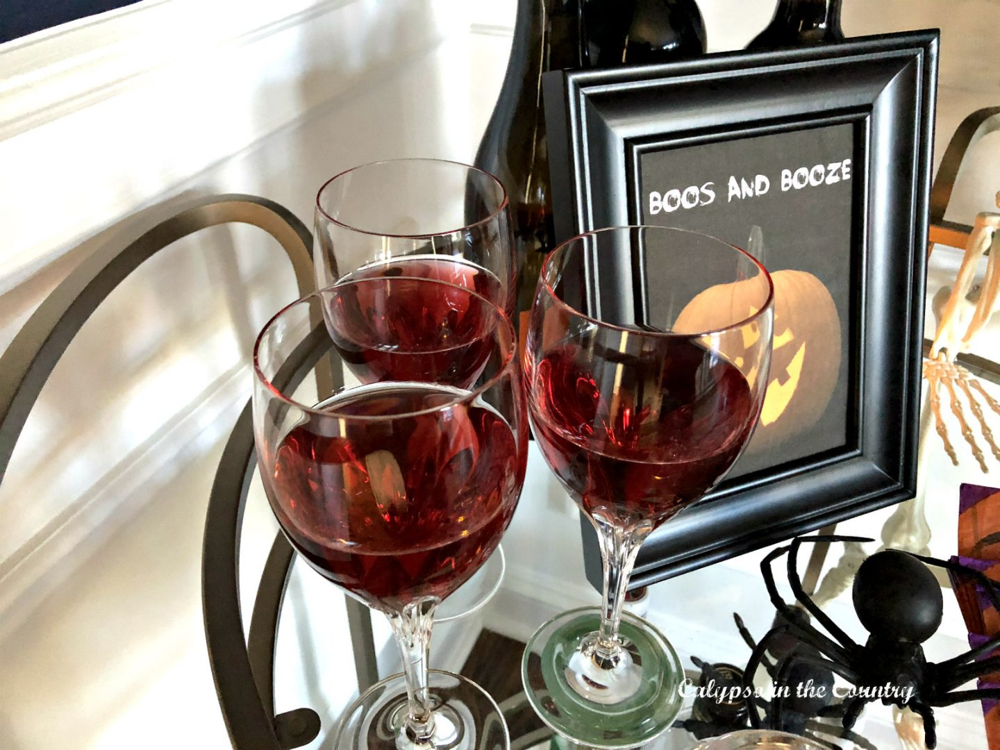 Red wine for Halloween