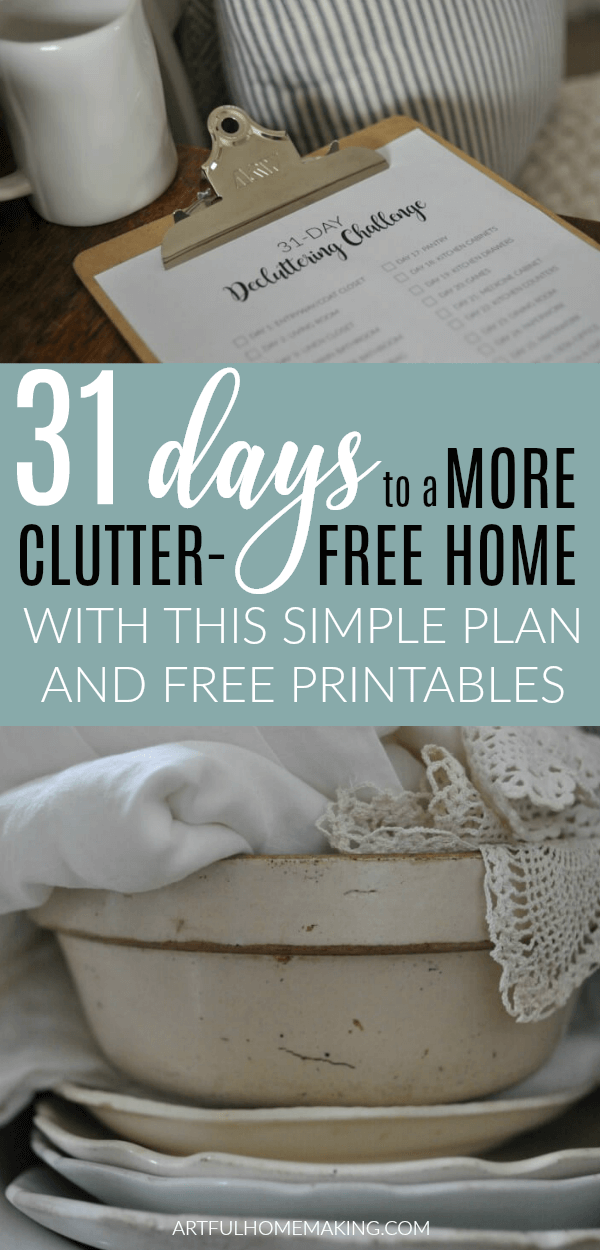 31 days to clutter free