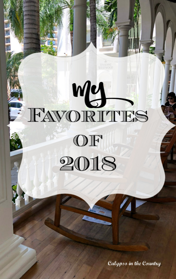 Favorites of 2018