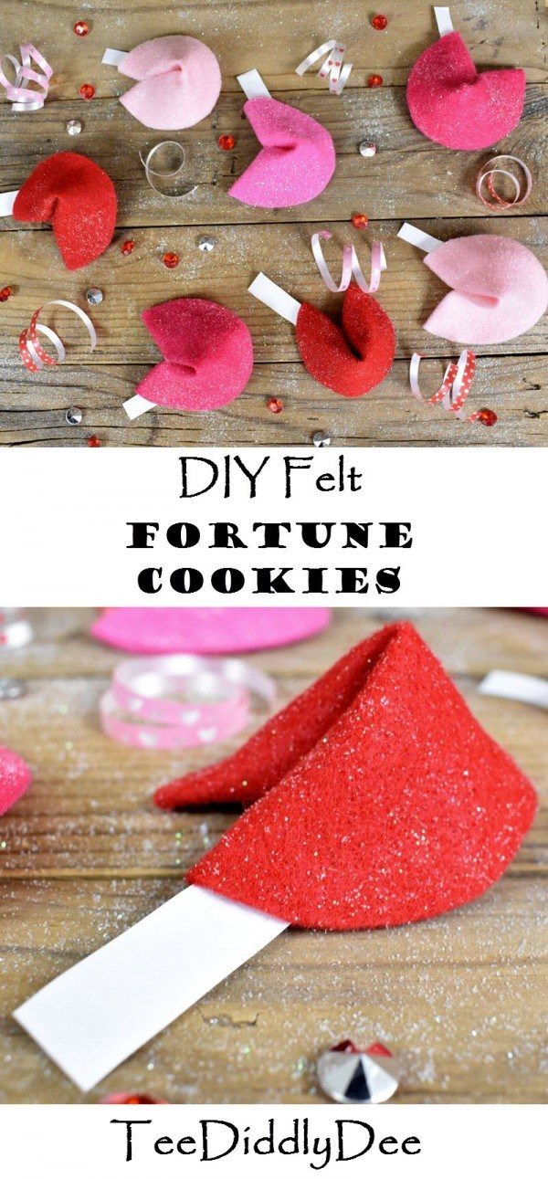 Felt Fortune Cookies