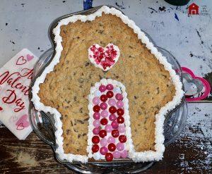 Valentine Idea Pan Cookie