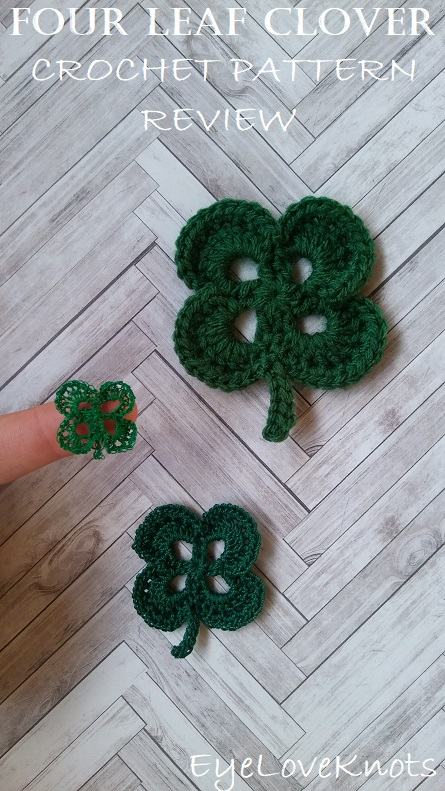 four leaf clover crochet