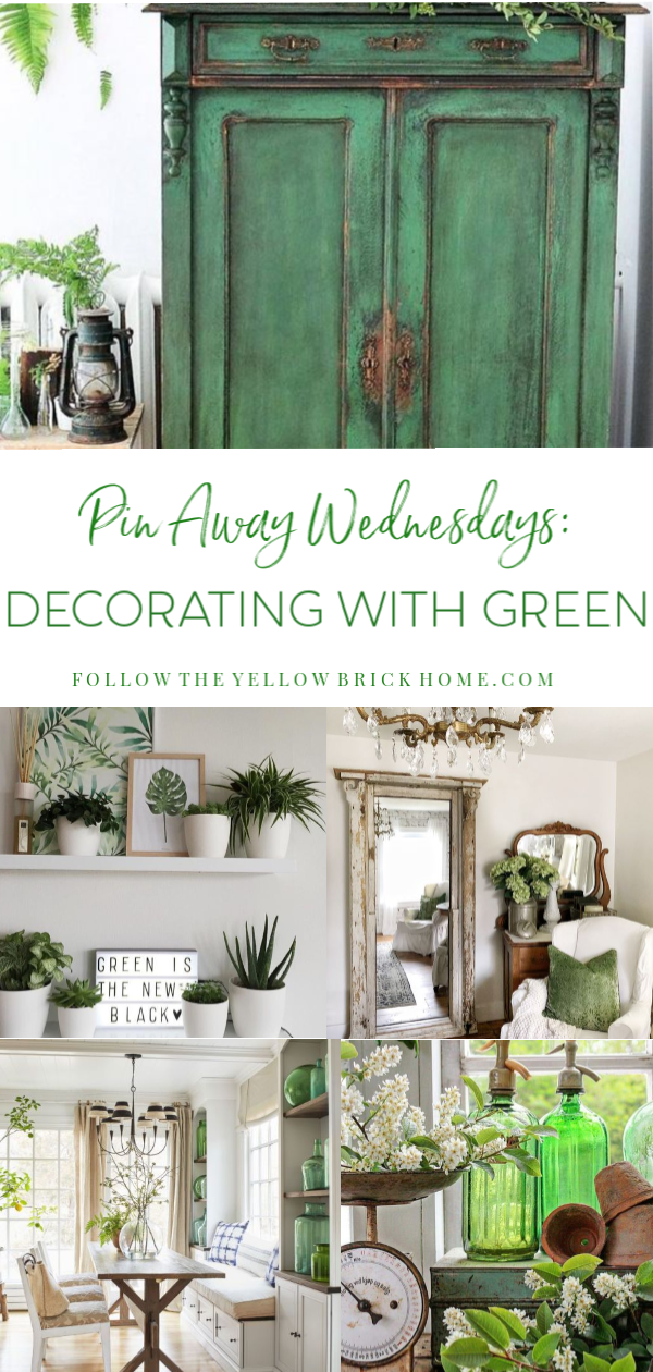 Welcome March Decorating with Green