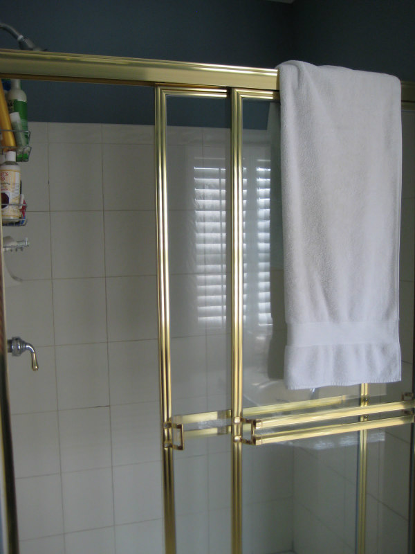 Gold Shower doors