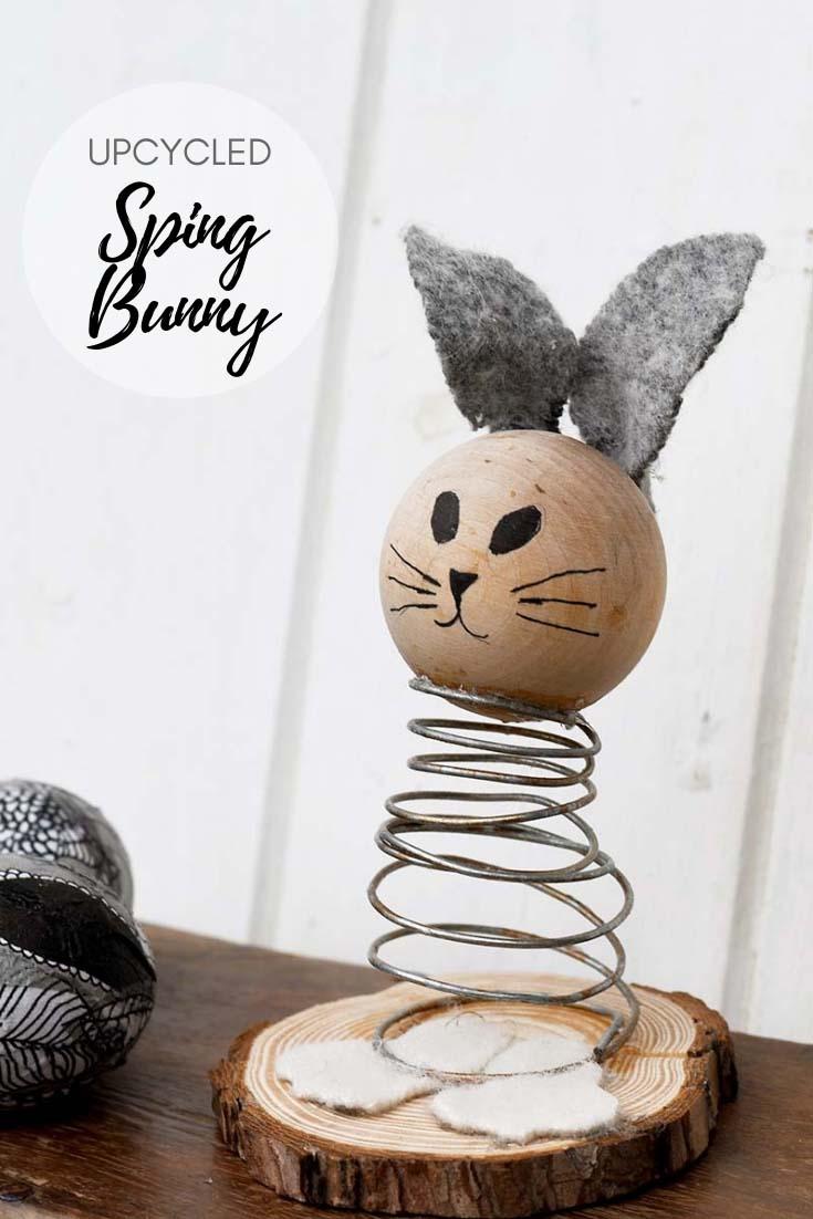 DIY Spring Bunny