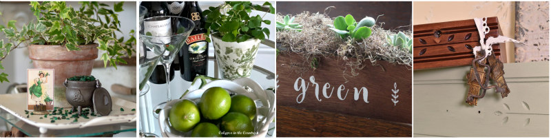 Green Collage 4 Blog Hop