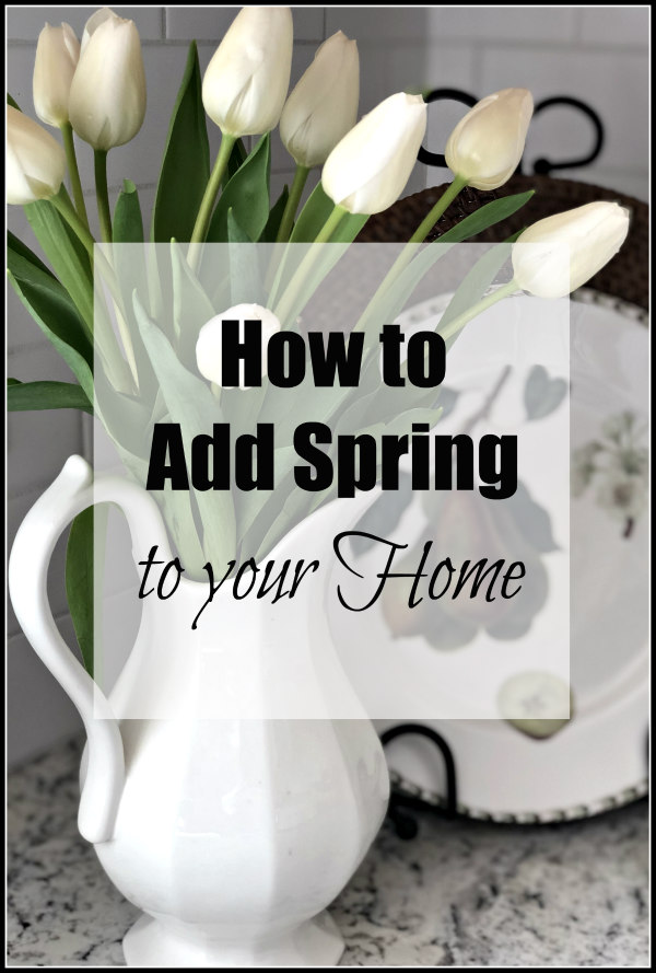 how to add spring to your home