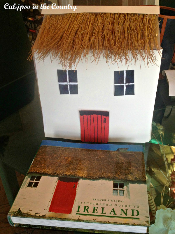 Irish Cottage and book