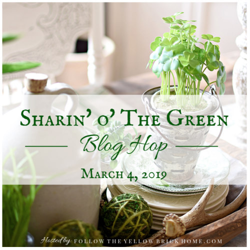 Sharin O The Green Blog Hop Announcement