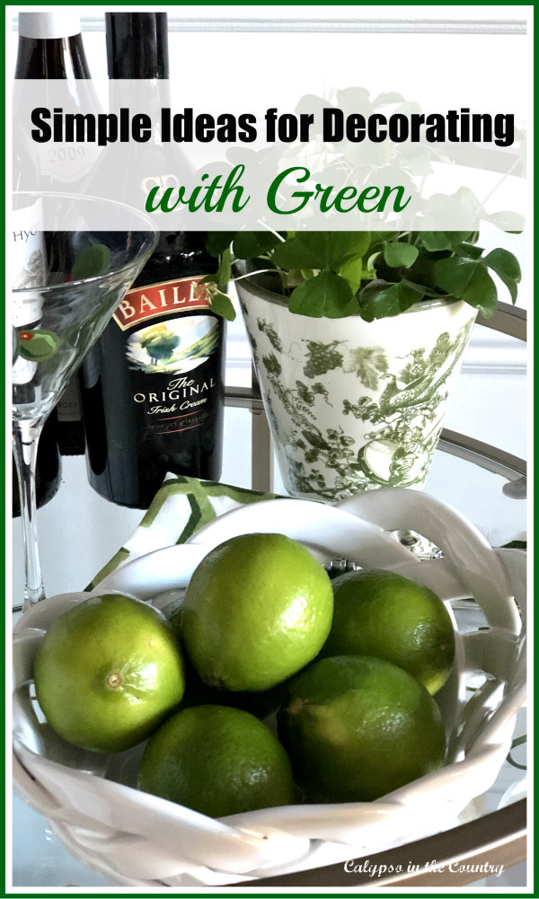 Simple Ideas for Decorating with Green