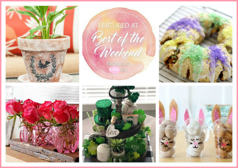 Spring Forward Inspiration - Best of the Weekend Link Party
