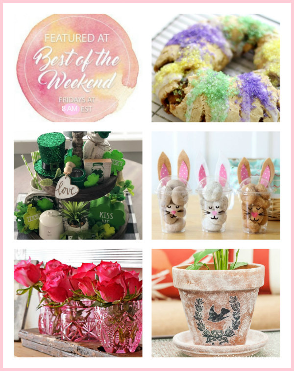Spring Forward Inspiration Projects - Best of the Weekend Link Party
