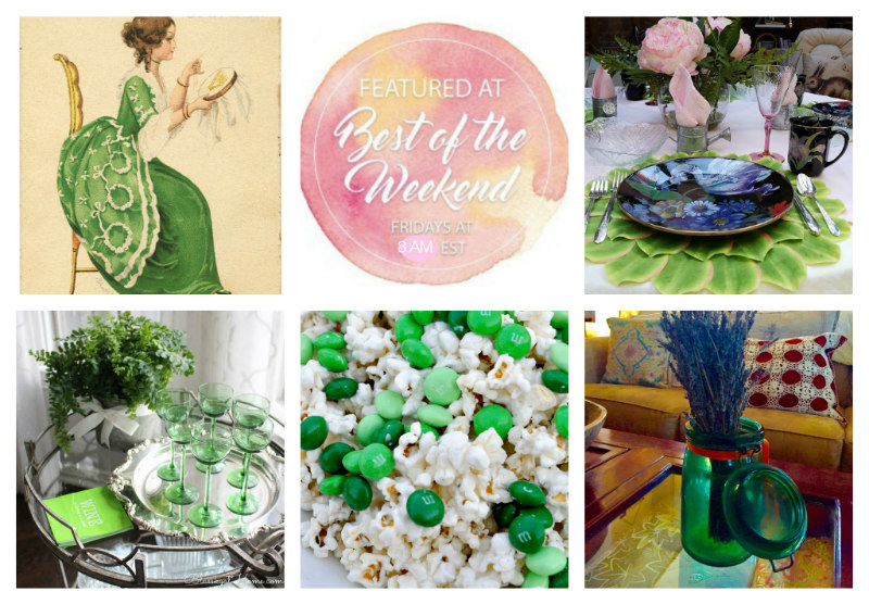 St. Patrick's Day Inspiration – Best of the Weekend 3/15/19