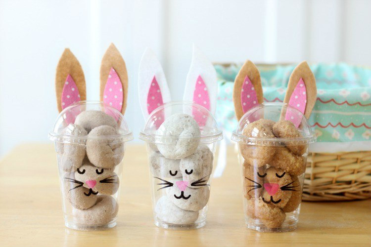 bunny treat cups