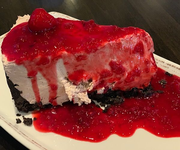 cheesecake with raspberries recipe