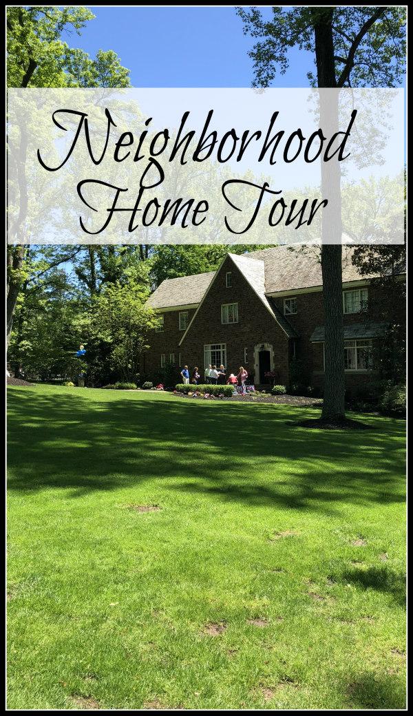 neighborhood home tour