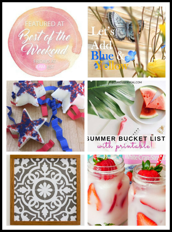 Heading into June Best of the Weekend Link Party Features