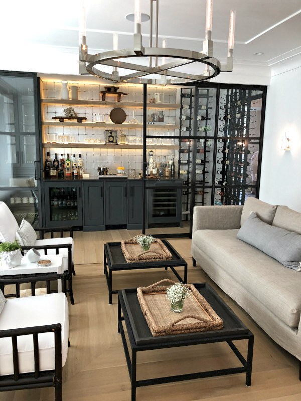 sitting room and wine bar