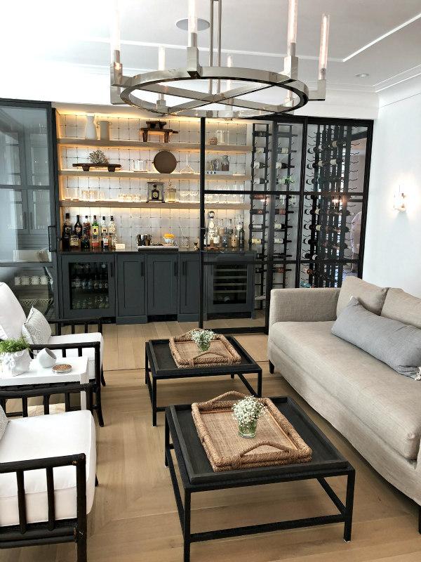sitting room and wine bar