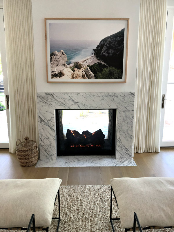 See Thru Fireplace