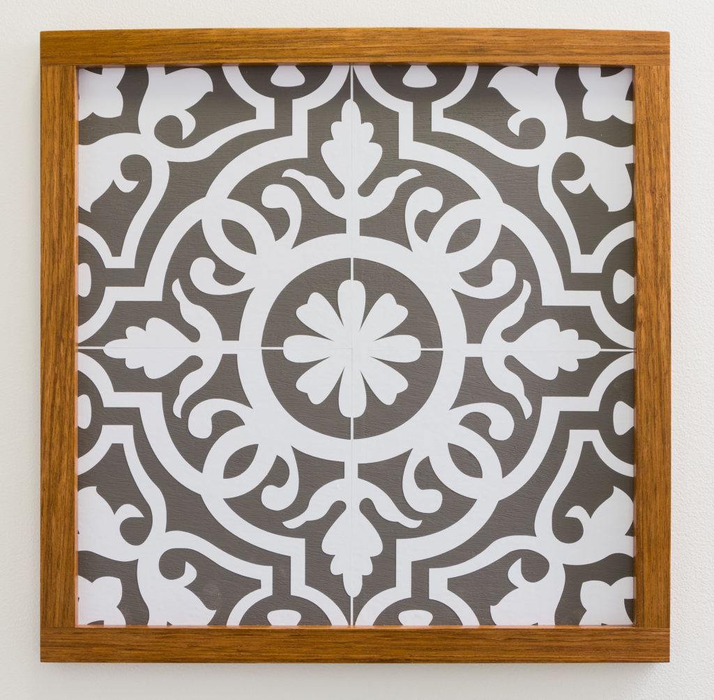 Moraccan Tile Stencil from Kippi at Home