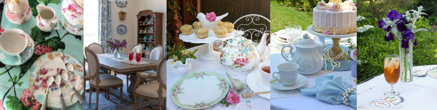 Spring Tea Party Collage 3