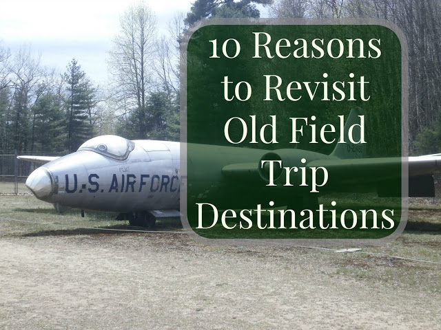 Airplane - Old Field Trip Destinations