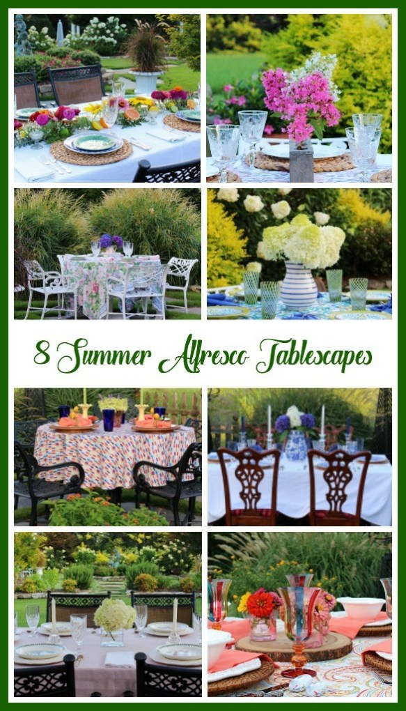 8 summer tables